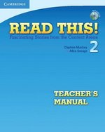 Read This! 2 Teacher's Manual with Audio CD ISBN: 9780521747912