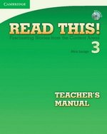 Read This! 3 Teacher's Manual with Audio CD ISBN: 9780521747943