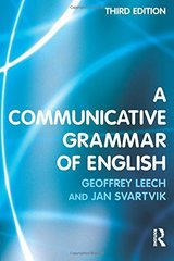 A Communicative Grammar of English ISBN: 9780582506336