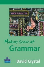 Making Sense of Grammar ISBN: 9780582848634
