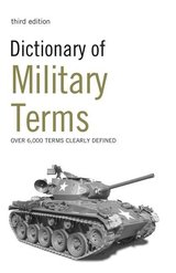 Dictionary of Military Terms ISBN: 9780713687354