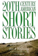 20th Century American Short Stories Volume 2 ISBN: 9780838448519