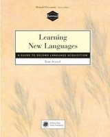 Learning New Languages - A Guide to Second Language Acquisition ISBN: 9780838466773
