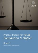 Practice Papers for TOLES Foundation and Higher Practice Book One with Audio CDs (2) ISBN: 9780954071455
