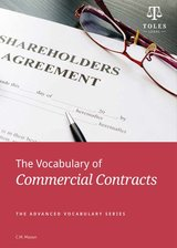 The Vocabulary of Commercial Contracts ISBN: 9780957358904