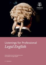 Listenings for Professional Legal English ISBN: 9780957358959
