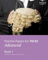 Practice Papers for TOLES Advanced Practice Book One ISBN: 9780957358973
