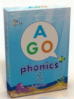 AGO Phonics Level 1 - Aqua; A Fun EFL Card Game for Students Learning to Read ISBN: 9780994124159