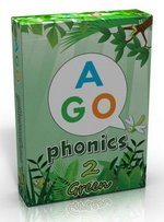 AGO Phonics Level 2 - Green; A Fun EFL Card Game for Students Learning to Read ISBN: 9780994124166