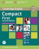 Compact First (2nd Edition) Student's Book without Answers with CD-ROM ISBN: 9781107428423