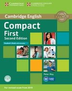 Compact First (2nd Edition) Student's Book with Answers & CD-ROM ISBN: 9781107428447