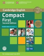 Compact First (2nd Edition) Student's Book Pack (Student's Book with Answers, CD-ROM & Class Audio CDs) ISBN: 9781107428454
