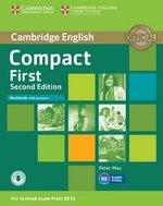 Compact First (2nd Edition) Workbook with Answers with Audio Download ISBN: 9781107428560