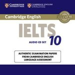Cambridge English: IELTS 10 Audio CDs (2) ISBN: 9781107464421