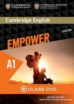 Cambridge English Empower Starter A1 Class DVD ISBN: 9781107466012