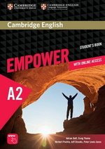 Cambridge English Empower Elementary A2 Student's Book with Online Assessment & Practice, & Online Workbook ISBN: 9781107466302