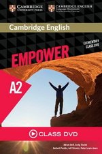 Cambridge English Empower Elementary A2 Class DVD ISBN: 9781107466364