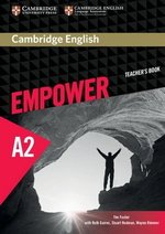 Cambridge English Empower Elementary A2 Teacher's Book ISBN: 9781107466449