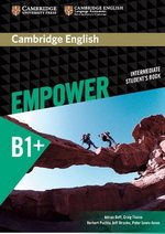 Cambridge English Empower Intermediate B1+ Student's Book ISBN: 9781107466845