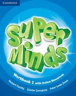 Super Minds 1 Workbook with Online Resources ISBN: 9781107482951
