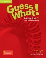 Guess What! 1 Activity Book with Online Resources ISBN: 9781107526952