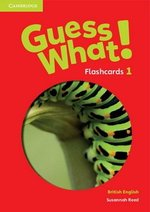 Guess What! 1 Flashcards (Pack of 95) ISBN: 9781107526976