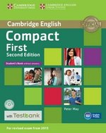 Compact First (2nd Edition) Student's Book without Answers with CD-ROM & Testbank ISBN: 9781107542471