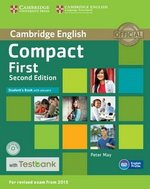 Compact First (2nd Edition) Student's Book with Answers, CD-ROM & Testbank ISBN: 9781107542495