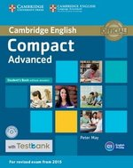 Compact Advanced Student's Book without Answers with CD-ROM & Testbank ISBN: 9781107543799