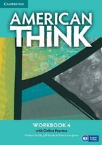 American Think 4 Workbook with Online Practice ISBN: 9781107598980