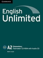 English Unlimited Elementary Testmaker CD-ROM & Audio CD ISBN: 9781107610002