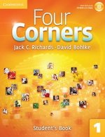Four Corners 1 Student's Book with Self-Study CD-ROM & Online Workbook ISBN: 9781107641747