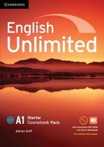 English Unlimited Starter Coursebook with e-Portfolio and Online Workbook ISBN: 9781107642416