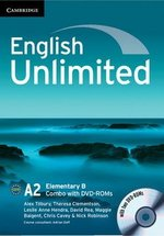 English Unlimited Elementary B Combo (Split Edition - Student's Book & Workbook) with DVD-ROMs (2) ISBN: 9781107649286