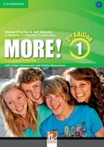 More! (2nd Edition) 1 Student's Book with Cyber Homework & Online Resources ISBN: 9781107656451