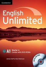 English Unlimited Starter A Combo (Split Edition - Student's Book & Workbook) with DVD-ROMs (2) ISBN: 9781107661349