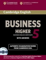 Cambridge English: Business (BEC) 5 Higher Self-Study Pack (Student's Book with Answers & Audio CD) ISBN: 9781107669178