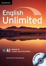 English Unlimited Starter B Combo (Split Edition - Student's Book & Workbook) with DVD-ROMs (2) ISBN: 9781107683853