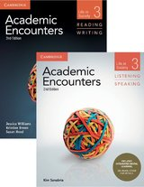 Academic Encounters (2nd Edition) 3: Life in Society Two Book Set (R&W Student's Book with WSI & L&S Student's Book with IDL) ISBN: 9781108348317