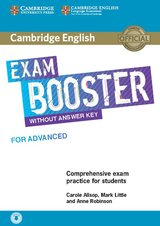 Cambridge English Exam Booster for Advanced (CAE) without Answer Key with Audio Download ISBN: 9781108349079