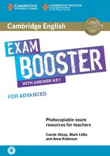 Cambridge English Exam Booster for Advanced (CAE) Photocopiable Teacher's Edition with Answers & Audio Download ISBN: 9781108349086