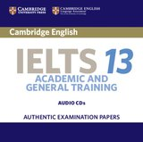 Cambridge English: IELTS 13 Academic & General Training Audio CDs (2) ISBN: 9781108450676