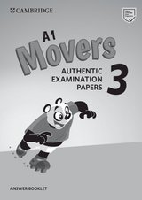 A1 Movers 3 Authentic Examination Papers Answer Booklet ISBN: 9781108465182