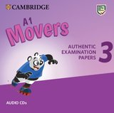 A1 Movers 3 Authentic Examination Papers Audio CDs ISBN: 9781108465236