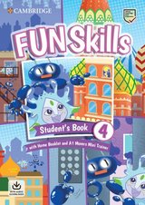 Fun Skills 4 Student's Book with Home Booklet, Downloadable Audio & A1 Movers Mini Trainer ISBN: 9781108563826