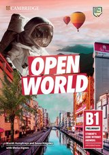 Open World B1 Preliminary (PET) Student's Book without Answers with Online Practice ISBN: 9781108565325