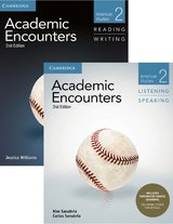 Academic Encounters (2nd Edition) 2: American Studies Two Book Set (R&W Student's Book with WSI & L&S Student's Book with IDL) ISBN: 9781108573856