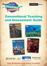 Cambridge Reading Adventures - Teaching and Assessment Guide Conventional: Pathfinder, Wayfarer, Explorer & Voyager Strands ISBN: 9781108647878
