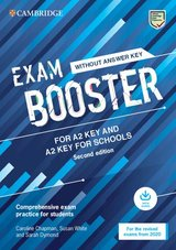 Exam Booster for Key (KET) & Key for Schools (KET4S) (2020 Exams) without Answer Key with Audio Download ISBN: 9781108682268