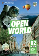 Open World B2 First (FCE) Self-Study Pack (Student's Book with Answers, Online Practice, Workbook with Answers & Audio Download & Class Audio) ISBN: 9781108759182